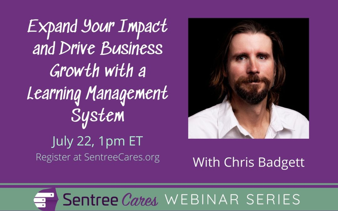 Webinar: How to Expand Your Impact and Drive Business Growth with a Learning Management System (LMS) on Your Website in 2020