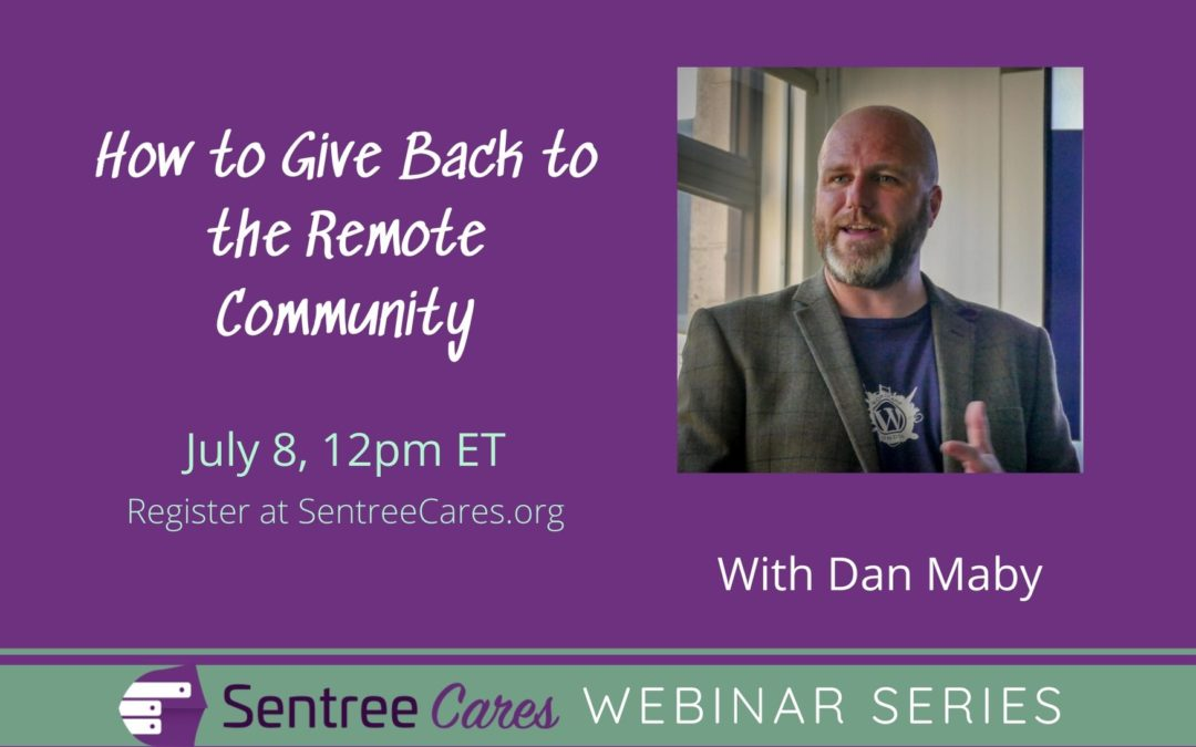 Webinar: How to Give Back to the Remote Community