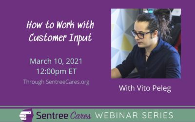 Webinar: How to Work with Customer Input