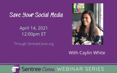 Save Your Social Media: A webinar dedicated to resurrecting (or starting) social media for your agency with Caylin White